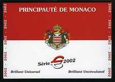 MONACO COFFRET BU 2002 RAINIER III ET ALBERT II NEUF