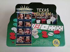 Poker Super Stars Invitational Tournament - Texas Hold 'Em Poker Set Tin Box