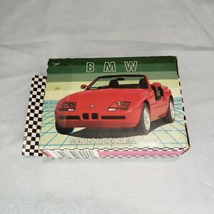 FX Schmid Dream Hot Cars BMW Z1 Roadster 54 pc Mini Puzzle Germany Vintage 7x5in
