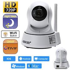 Outdoor HD 720P Wireless Waterproof IP Webcam Night Vision Onvif IR-Cut Camera #