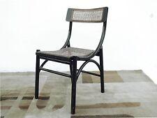 Thonet  sedia  paglia vienna legno laccata nera originali condizioni fine '800