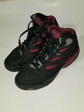 7f3e83bc79f0 Adidas Dikembe Mutombo Rare Black Purple White 55 Sneakers Men s Shoe Size  11