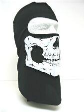 Schampa BLCLV008 Skull Balaclava Traditional Facemask Face Mask Gator Black NWT