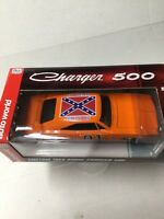General Lee 1:24 scale diecast Dodge Charger 500 Autoworld 1969 Dukes of Hazzard