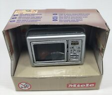 Mini Miele Microwave Oven With Accessories 12th Scale Dolls House Accessory