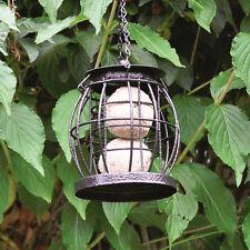 Metal Mini Caged Small Lantern Shaped Bird Fat Ball Feeder