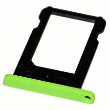 Apple iPhone 5c nano-SIM slot tray Halter Schacht card holder Schlitten grün