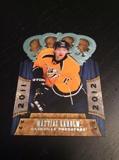2011-12 Panini Crown Royale Rookie Mattias Ekholm Nashville Predators! #139