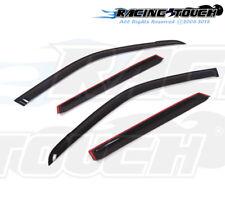 For Suzuki Grand Vitara 06-11 Dark Grey Out-Channel Window Visor Sun Guard 4pcs