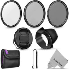 67MM Altura Photo UV CPL ND4 Professional Lens Filter Kit and Accessory Set
