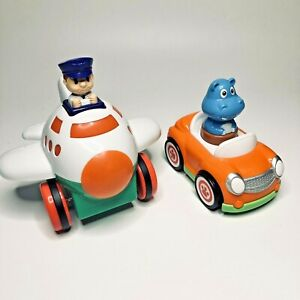2 x Press and Go Toddler Toy Vehicles - Car, Plane (Little Tikes, Wilko)