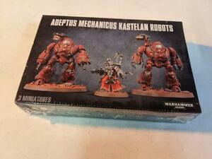 Games Workshop Warhammer 40k Adeptus Mechanicus Kastelan Robots AdMec BNIB