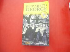 ELIZABETH GEORGE-NESSUN TESTIMONE-SUPERPOCKET-BEST THRILLER-2009