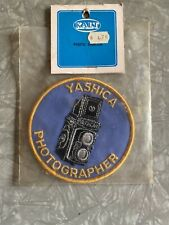 Collectable, Original Yashica Photographer Patch By Kalt (new Old Stock).