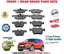 FOR LAND ROVER DISCOVERY SPORT 2.0 2.0D 2.2D 2014 > FRONT + REAR BRAKE PADS SET