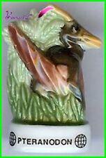 "Feve Les Dinosaure Edition  Atlas "" Le Pteranodon "" Oiseau Bird #D21"