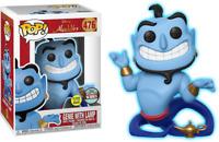 Disney Aladdin - Genie with Lamp Glow GITD Funko Pop Vinyl New in Box In Hand