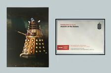 DOCTOR WHO RARE NEW SERIES MATT SMITH DALEK PROMOTIONAL BBC WALES POSTCARD 2012!
