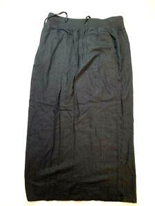 CAPSULE Long Pencil Skirt Women's Black High Rise Casual Skirt UK Size 14 BNWT