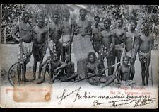 BANGUI (CONGO Français) ETHNIQUE / INDIGENE avec ARMES avant 1904