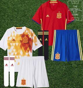 adidas Spain Football Kit Boys - Home / Away - Shirt Shorts Socks - All Sizes
