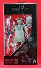 "Constable Zuvio Star Wars The Black Series Force Awakens 6"" Action Figure Hasbro"
