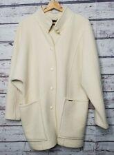 Geiger Wool Coat Womens Size 36 Jacket Ivory