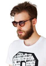 Concha Gafas De Sol-Caparazón De Tortuga Redondo Oxford Hombre agravio Animal Print