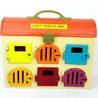 Battat Critter Clinic toy box carry case Pet Vet Hospital Cage