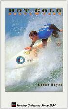 1994 Futera HOT SURF Regular Hot Gold BONUS Membership Card Conan Hayes