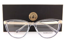 Brand New VERSACE Eyeglass Frames VE 3271 5305 Transparent Grey Women Size 54mm
