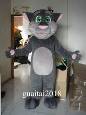 Birthday Party Dress adults Size Talking Tom Cat Mascot Costume suits Animal