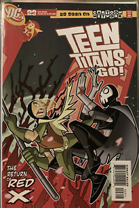 TEEN TITANS GO #23 1st Appearance Red X FUTURE STATE HIGH GRADE See Pics