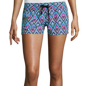 Arizona Drawstring Shorts Juniors Size M, L New Msrp $28.00