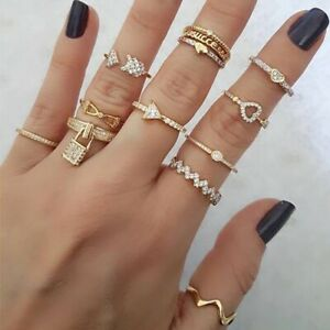 Classic Luxury Stainless Steel Luxury Adjustable Gold Rings