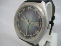NOS NEW SWISS WATER RESIST BIG AUTOMATIC VULCAIN WATCH 1960'S