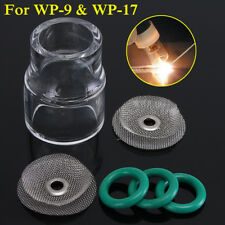 6Pcs #12 Fupa Glass Pyrex Cup TIG Welding Tool Kit For WP-9 WP-17 18 26 Gas Lens