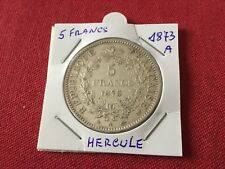 Pièce de 5 F en argent Hercule 1873 A