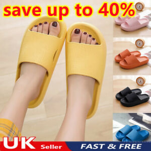 UK PILLOW SLIDES Sandals Ultra-Soft Slippers Extra Soft Cloud Shoes Anti-Slip❤