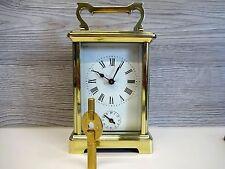Antike Reiseuhr Antique 8 Day French Miniature Carriage Alarm Clock