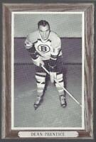 1964-67 Beehive Group III Photos Boston Bruins #24 Dean Prentice