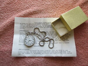Time Flies Pocket Watch by Mike Bornstein - Magic Trick Gag - Rare