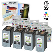 LD © Remanufactured Canon #PG-40 & #CL-41 Combo Set - 3 Black 1 Color