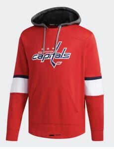 Adidas Capitals Platinum Jersey Hoodie Men's Size Large MSRP $100
