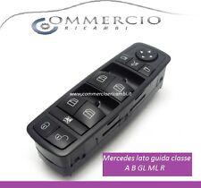 """1 pulsantiera alzavetro lato guida  Mercedes classe A B GL ML R """"NUOVA"""" 4 tasti"""