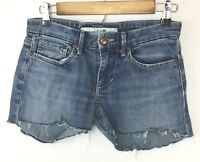 Joe's Jeans Women's Jean Cut Mini Shorts! Distressed, Sweet Logo! Meas as Sz 29