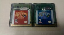 The Legend of Zelda Oracle of Ages and Seasons lot. Tested batteries work