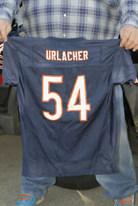 Brian Urlacher Chicago Bears jersey NFL LB Hall of Fame reebok Youth xl nm nm-