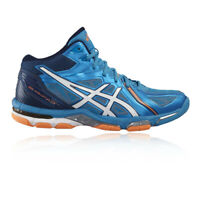 Asics Mens Gel Volley Elite 3 MT Court Shoes Blue Sports Handball Netball