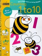 Step Ahead: Counting 1 to 10 : Get a Head Start on Being Smart! by Golden...